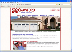 Crawford Garage Doors Site
